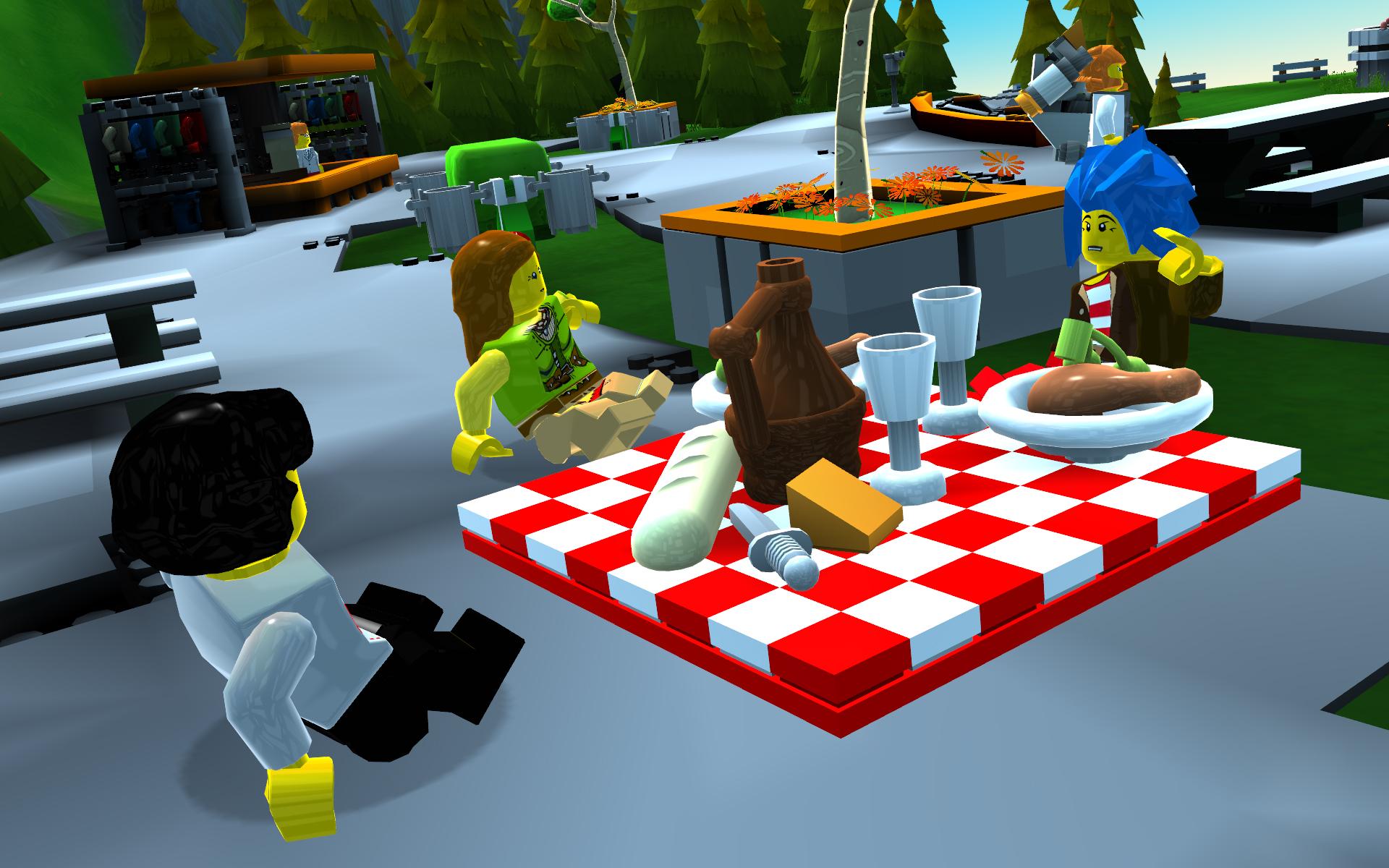 Lego Universe: The Lego MMOG