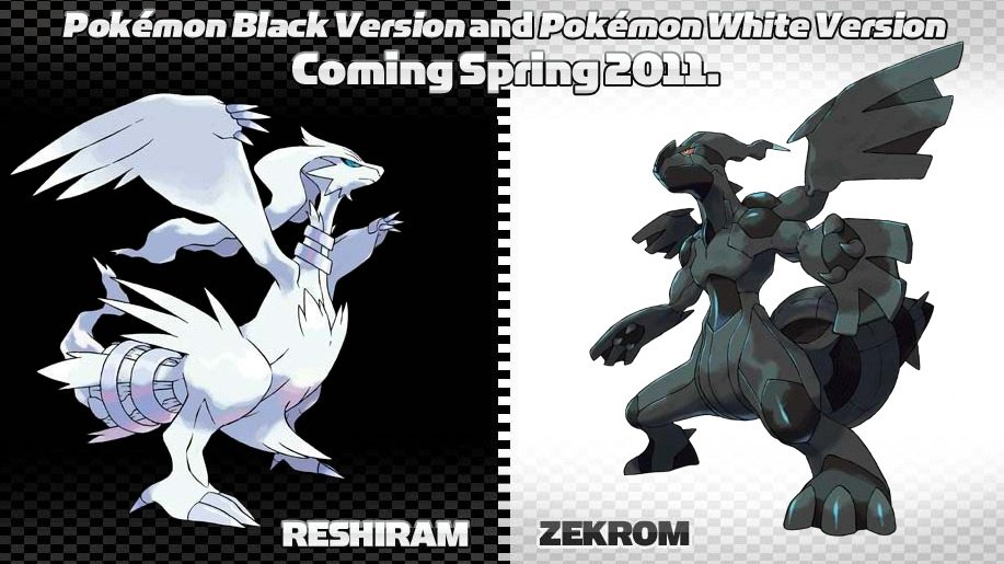 a new promotional pamphlet for Pokémon Black and White lists some new