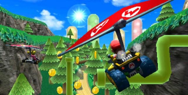 mario kart 7 flying gameplay screenshot 640x325 Keep It Or Trade It?: Mario Kart 7 (3DS)