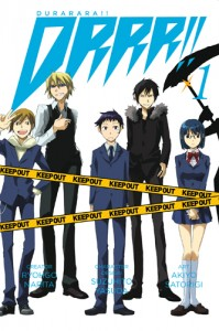 DURARARA 1 199x300 Read or Recycle?: DRRR!! Volume 1