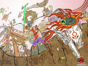 wallpaper6 1024x768 300x225 Capcom to Release HD Version of Okami