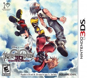 KingdomHearts3DBoxArt 300x268 Keep It or Trade It?: Kingdom Hearts 3D (3DS)
