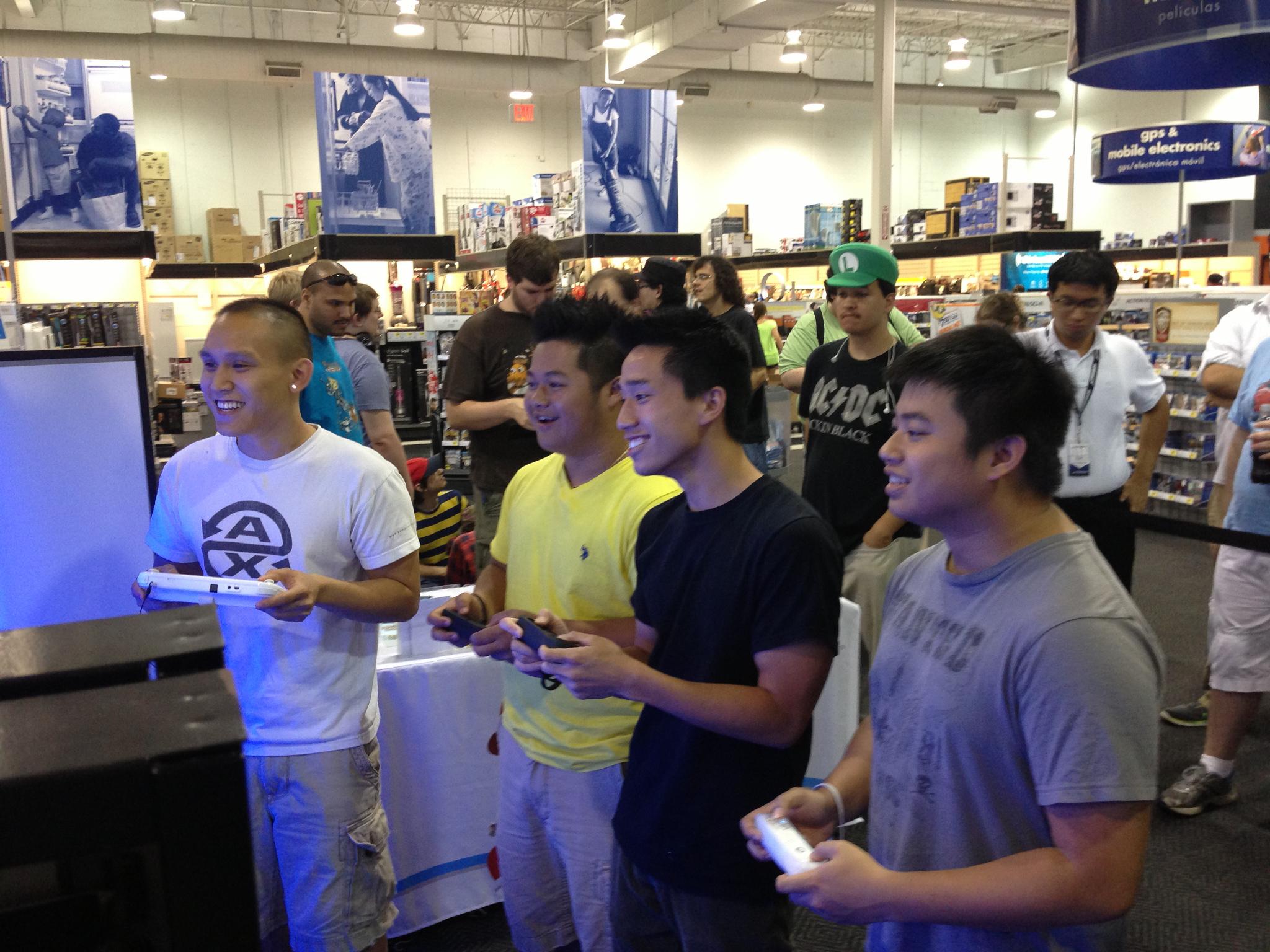 Wii U demo reaction