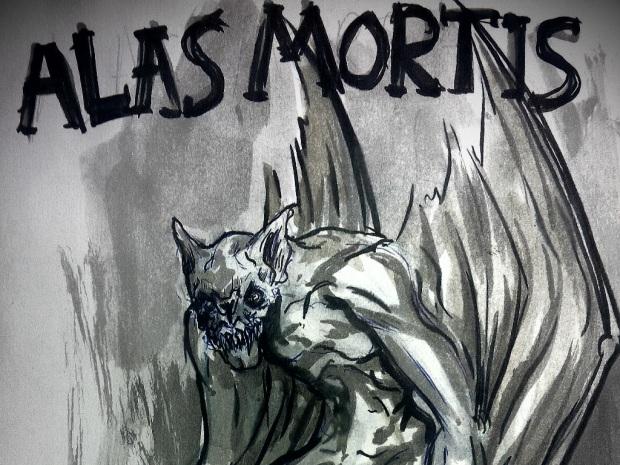 Alas Mortis monster