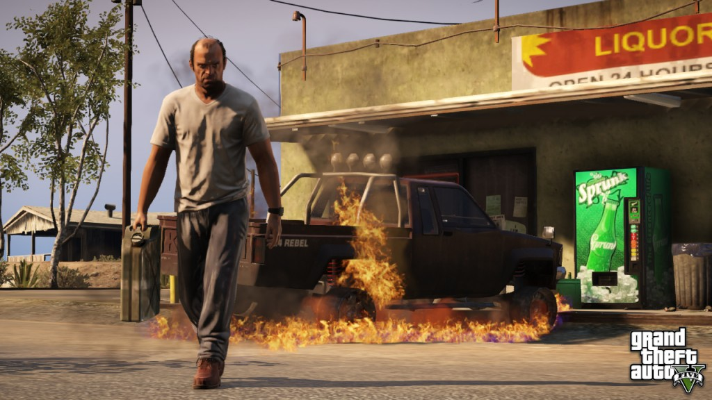 You don't mess with Trevor Philips.