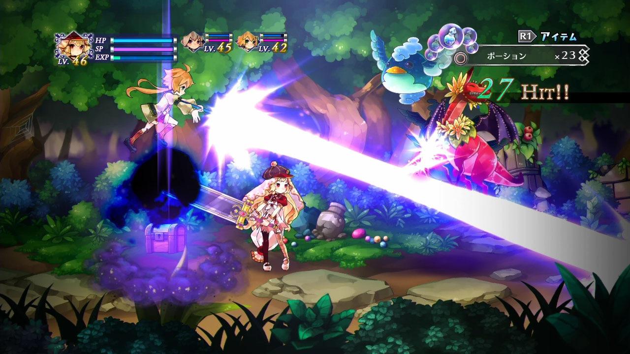 Battle Princess of Arcadias Screenshot 1